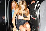 Jennifer Aniston upskirt